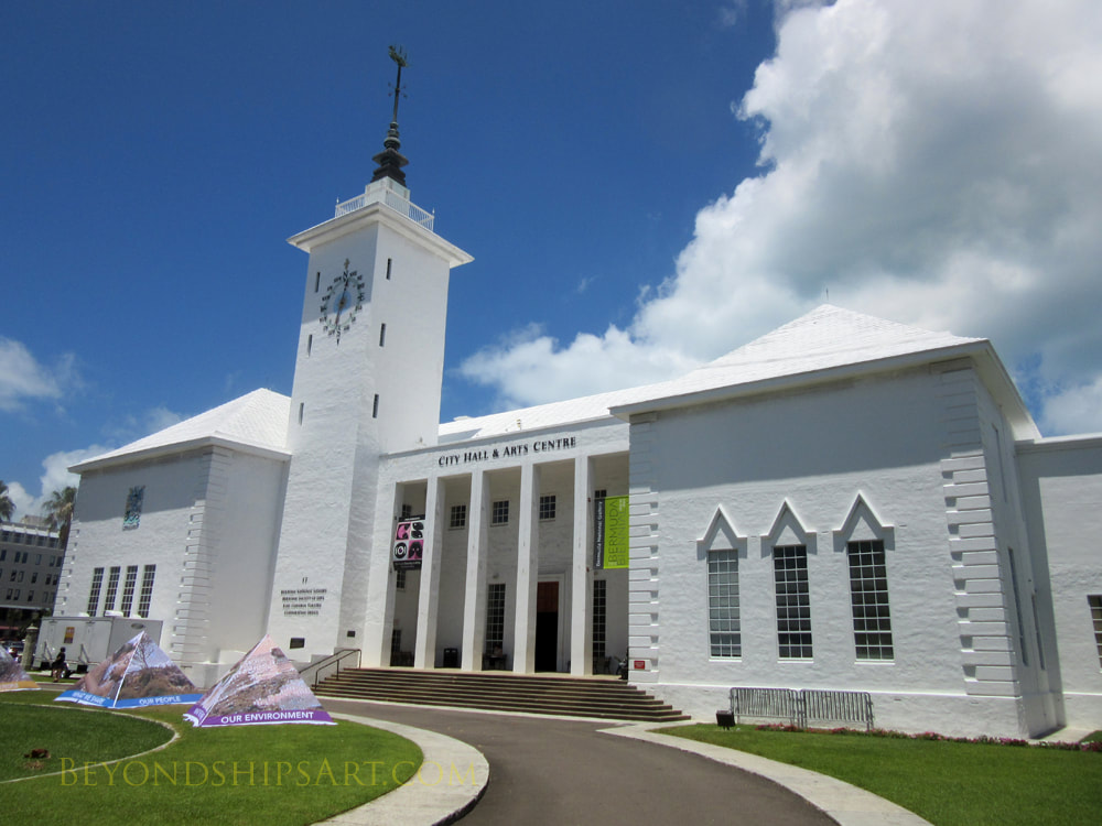 City Hall and Arts Centre, Hamilton, Bermuda