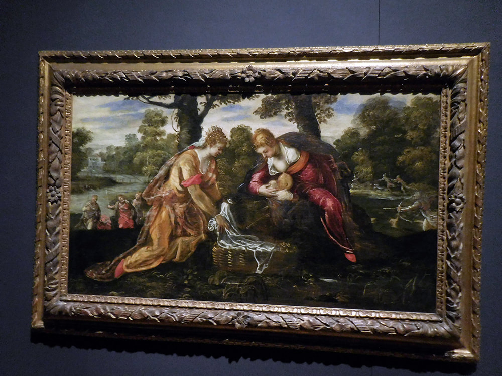 Painting by Jacopo Tintoretto