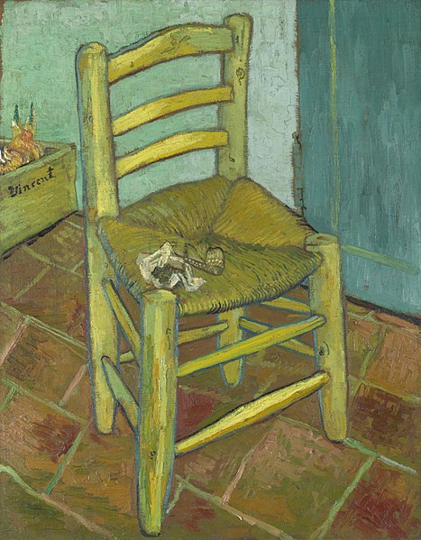 Van Gogh, The Chair