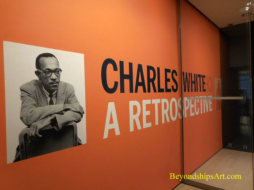 MOMA art exhibition Charles White: A Retrospective
