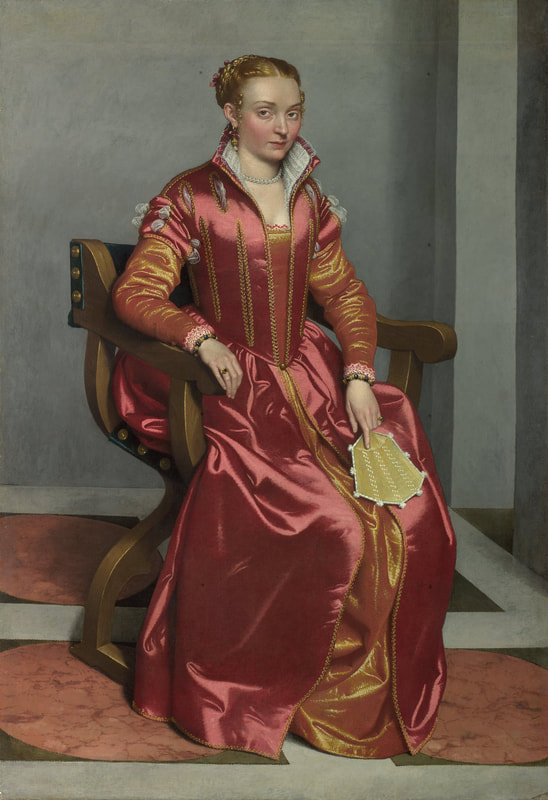 Moroni, The Lady in Red