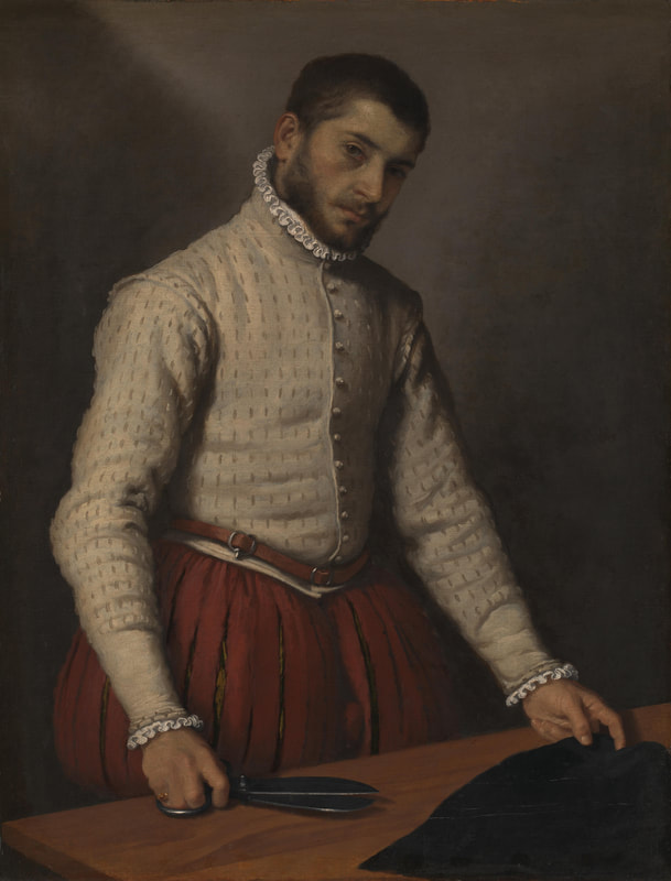 Moroni, The Tailor