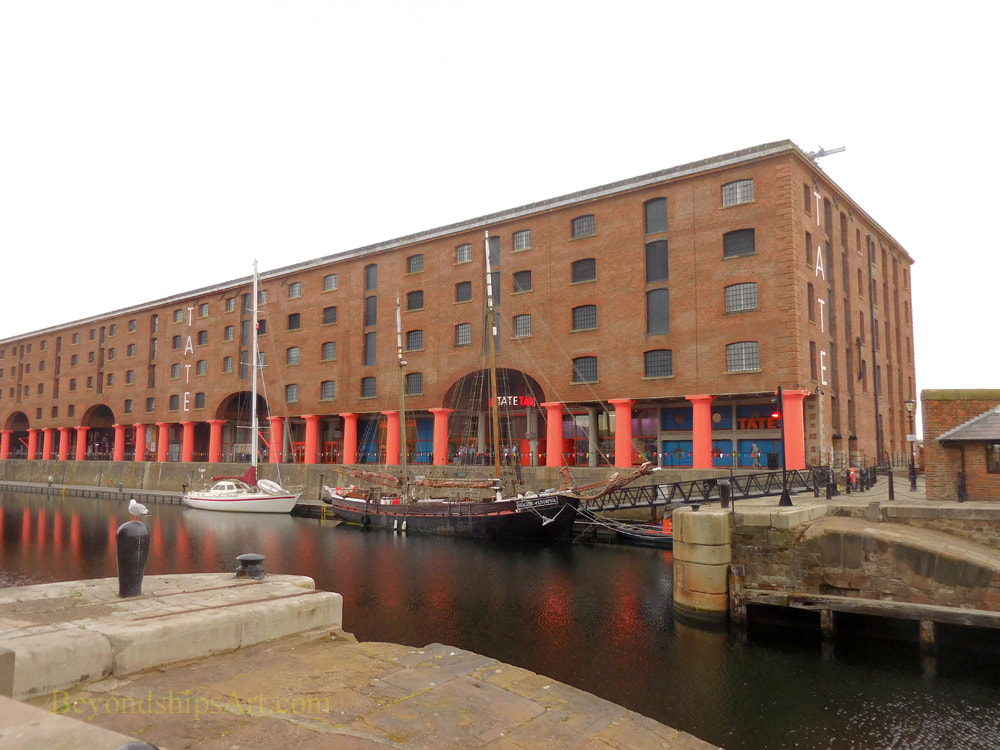 Tate Liverpool art gallery, Liverpool