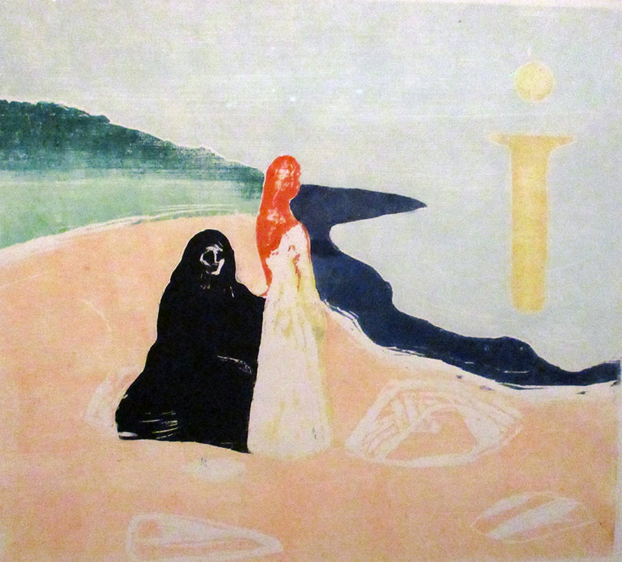 Munch, Two Women on the Shore