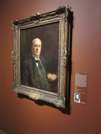 Henry James by John Singer Sargent at the Morgan Library and Museum