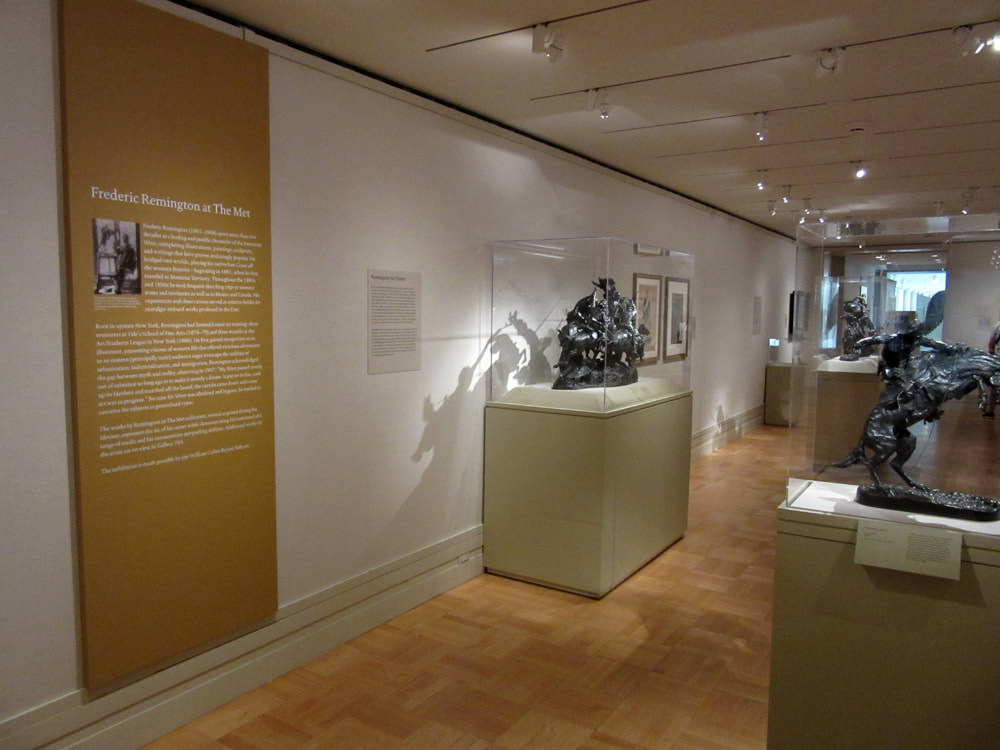 Remington Exhibit, Metropolitan Museum of Art