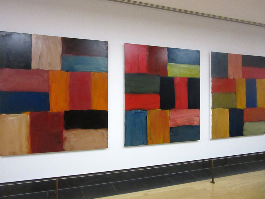 Sean Scully exhibition National Gallery