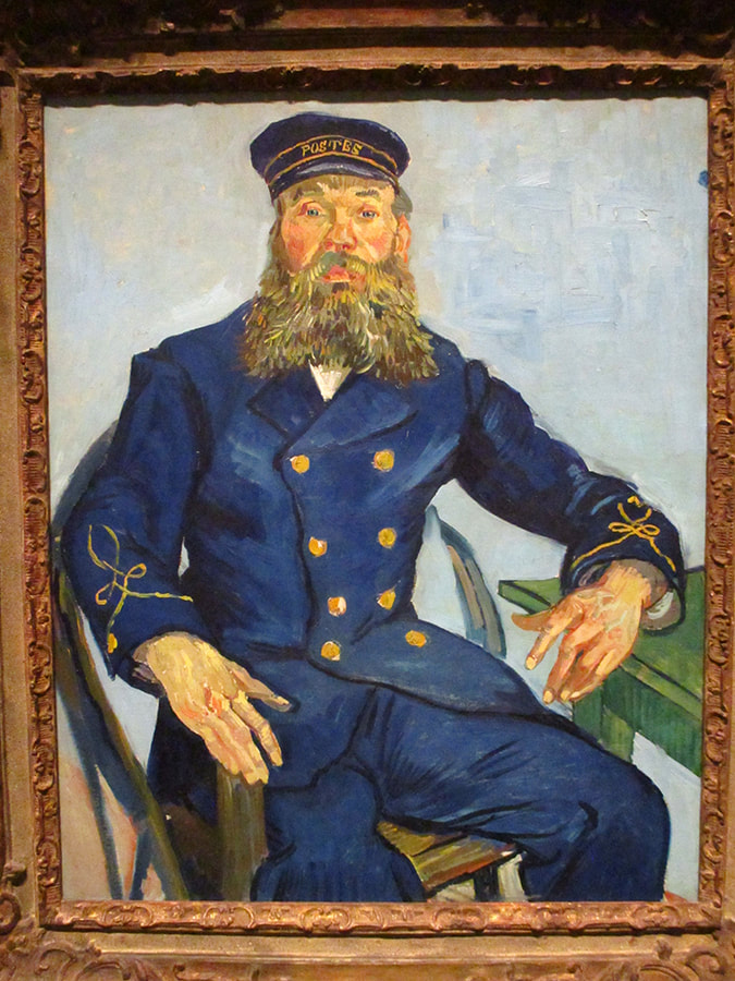 Van Gogh's Postmaster, Boston Museum of Fine Arts
